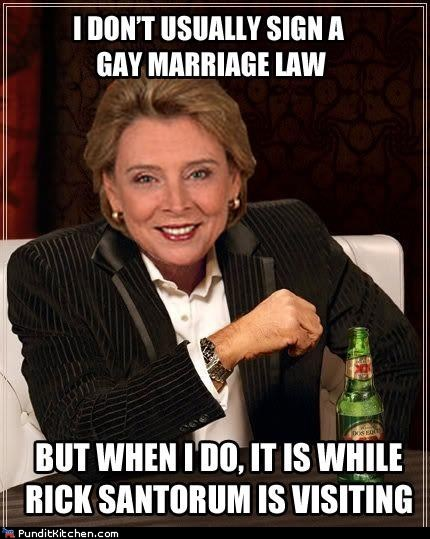 Christine Gregoire,equality,gay marriage,gay rights,political pictures,Washington state