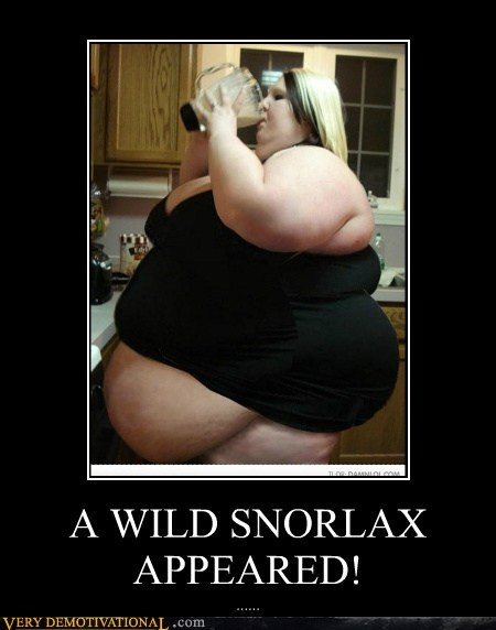 A WILD SNORLAX APPEARED!