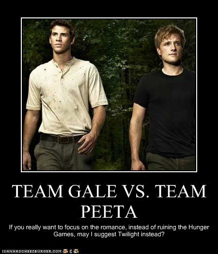 TEAM GALE VS. TEAM PEETA
