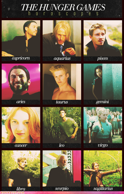 """The Hunger Games"" Horoscopes"