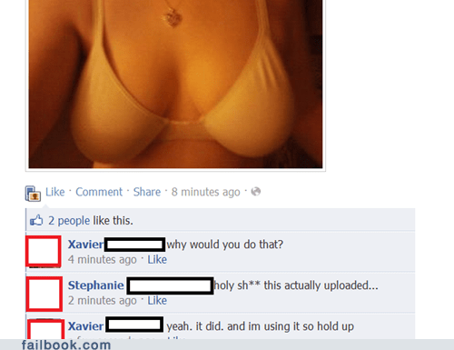 bewbs,bra,oops,sexy times for one,witty reply
