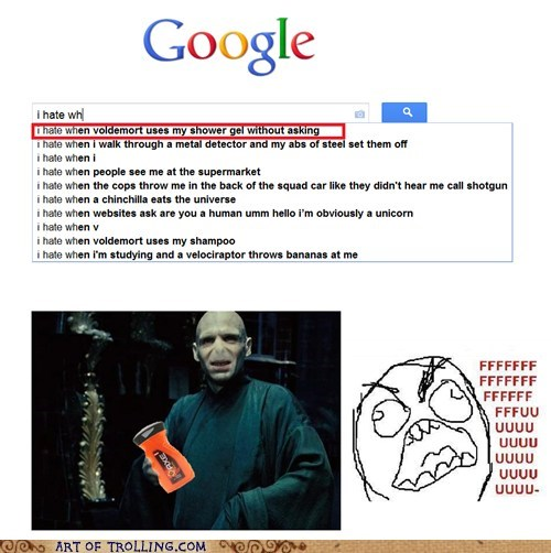 auto complete,google,i hate when,voldemort