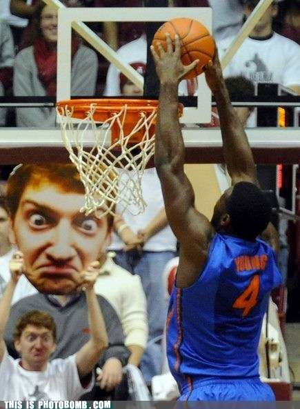 This Is Photobomb: Dunk, I Dare You