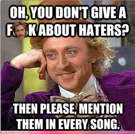 Condescending Wonka on Rappers