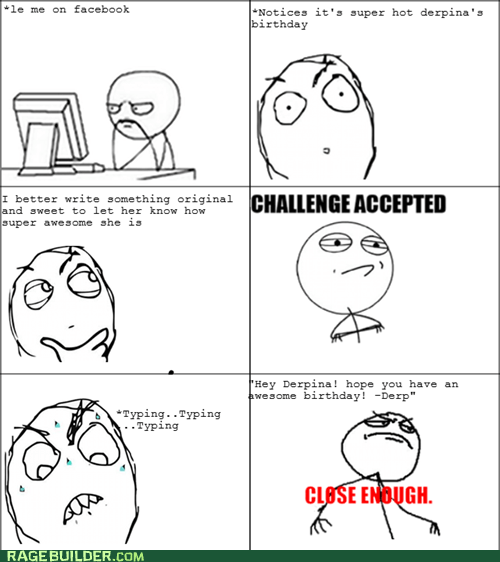Rage Comics: PS I Like Your Face