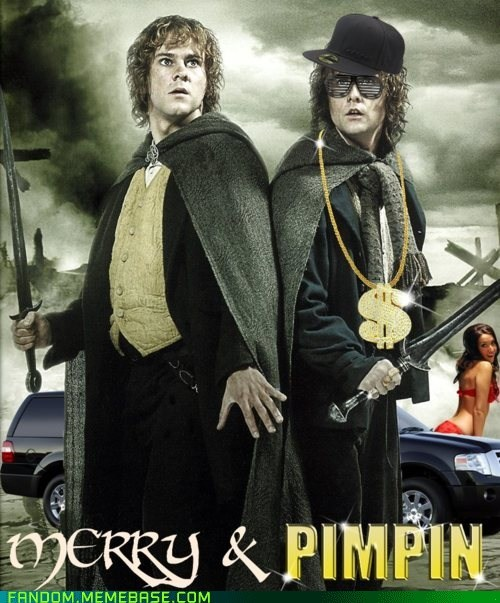 Big Pimpin Up In Middle Earth