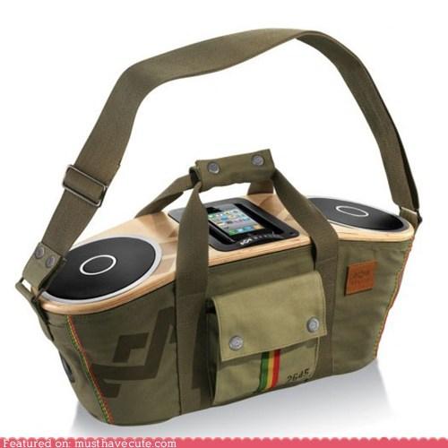 audio,bag,electronics,Music,picnic,speakers