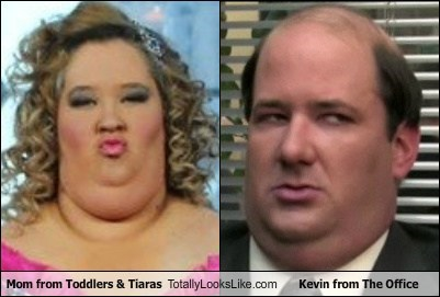 Mom from Toddlers & Tiaras Totally Looks Like Kevin from The Office