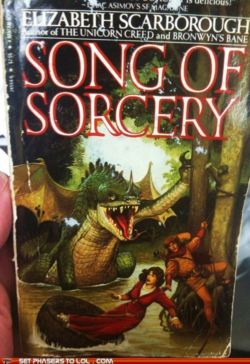 WTF Fantasy Book Covers: Song of Sorcery