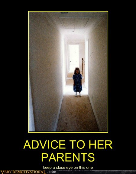 ADVICE TO HER PARENTS