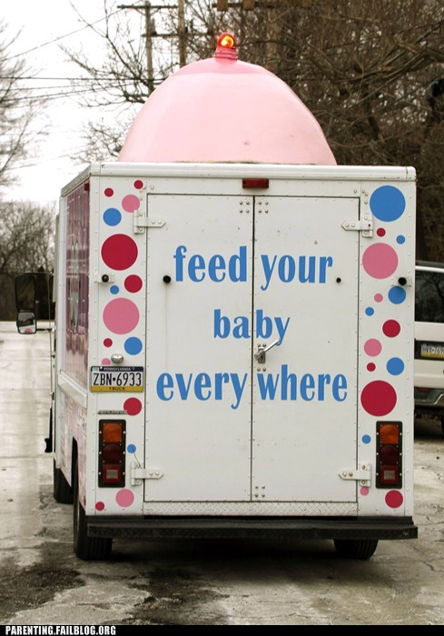 "And so begins the ""where is it appropriate to breast-feed?"" debate"