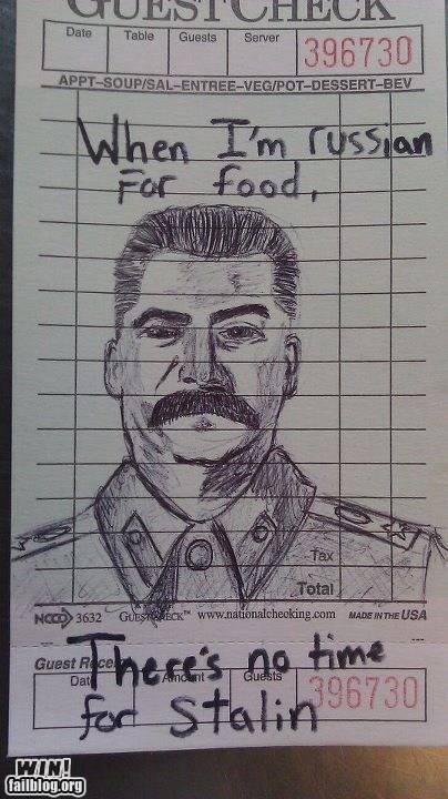 clever,pun,russia,stalin,word play