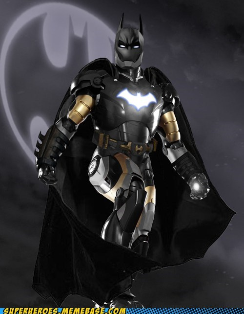 Awesome Art,batman,best of week,ironman,mashup
