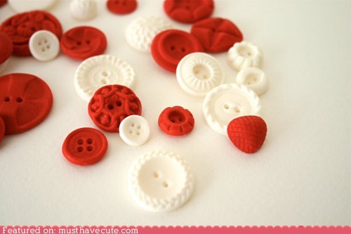 buttons,candy,epicute,molded,sugar