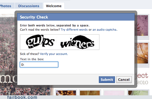 How Dare You, CAPTCHA!