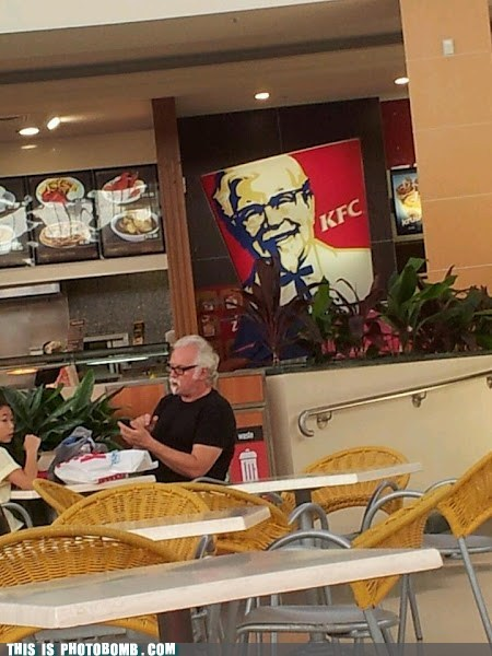 Meanwhile at KFC
