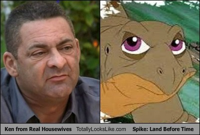 Ken from Real Housewives Totally Looks Like Spike: Land Before Time