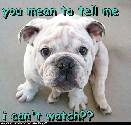 you mean to tell me  i can't watch??
