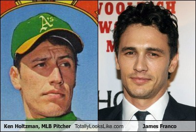 Ken Holtzman, MLB Pitcher Totally Looks Like James Franco