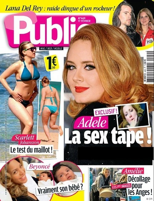 Adele Sues Over Faux Sex Tape of the Day
