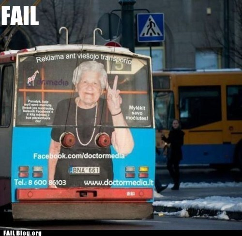 Grandma's Modeling Job FAIL
