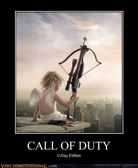 call of duty,cupid,hilarious,Valentines day,wtf