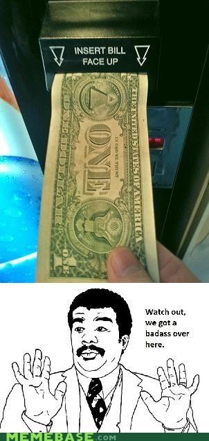 Badass,dollar,face,machine