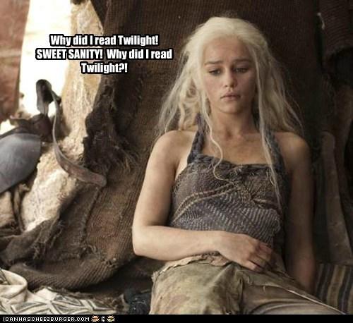 Daenerys Targaryen,Emilia Clarke,Game of Thrones,read,sanity,why