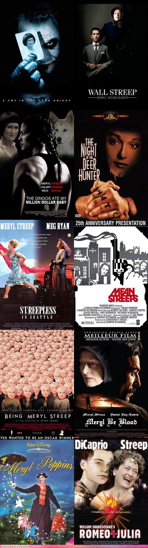 actor,celeb,flawless,Meryl Streep,Movie,poster,sexy,shoop