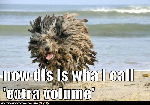 now dis is wha i call 'extra volume'