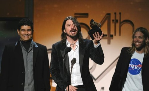 Dave Grohl Clarifies His Grammy Speech of the Day
