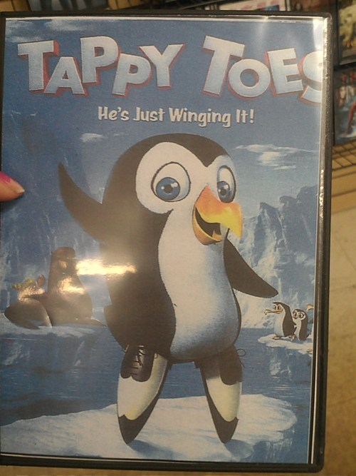 Happy Feet? Nooo, Tappy Toes!