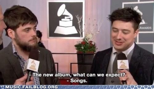 Grammys,interview,journalism,mumford-sons
