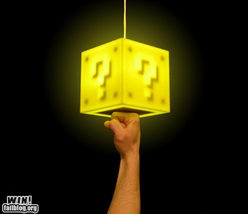 Coin Block Lamp WIN