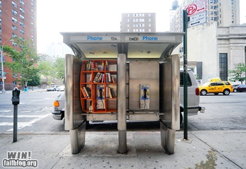 Phone Booth Library WIN