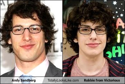 Andy Samberg Totally Looks Like Robbie from Victorious