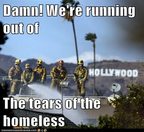 firefighters,hollywood,political pictures