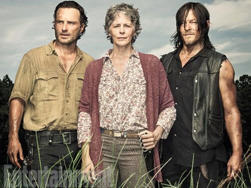 Rick Grimes,ew,daryl dixon,walking dead season 6,The Walking Dead