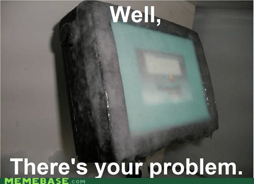It Seems Frozen; Have You Tried Restarting?