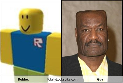 Roblox Totally Looks Like Guy