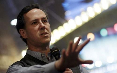 Santorum Santorum Says of the Day