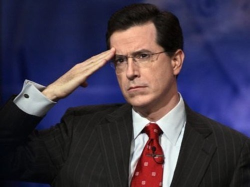 Follow Up of the Day: The Colbert Report Returns
