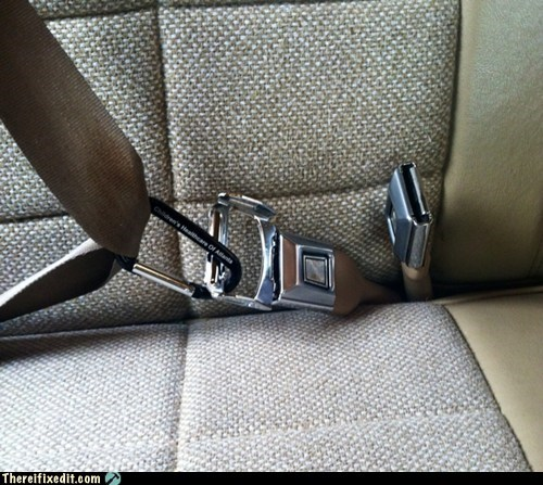 Child Safety Belt: I done fixed it!