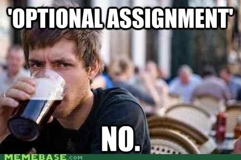 assignment,college,senior,uber frosh