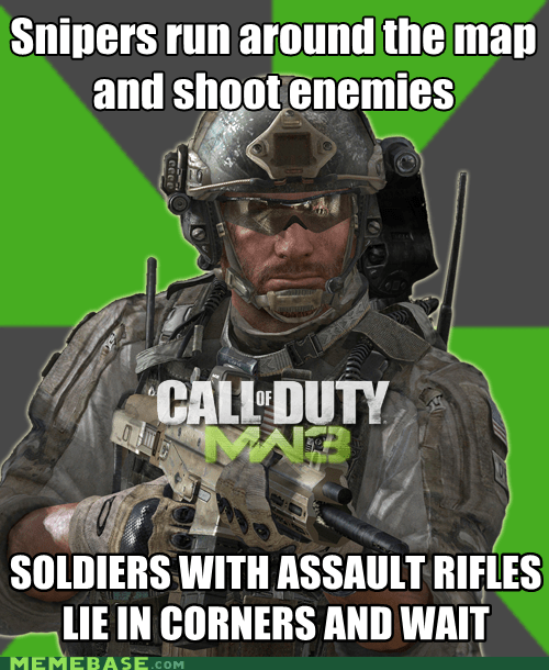 Modern Warfare 3 Multiplayer: Shouldn't This Be the Other Way Around?