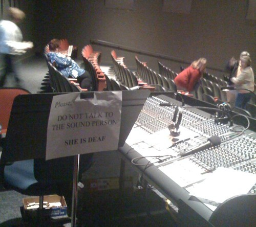 Trustworthy Sound Engineer FAIL