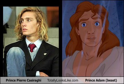 Prince Pierre Casiraghi Totally Looks Like Prince Adam (beast)