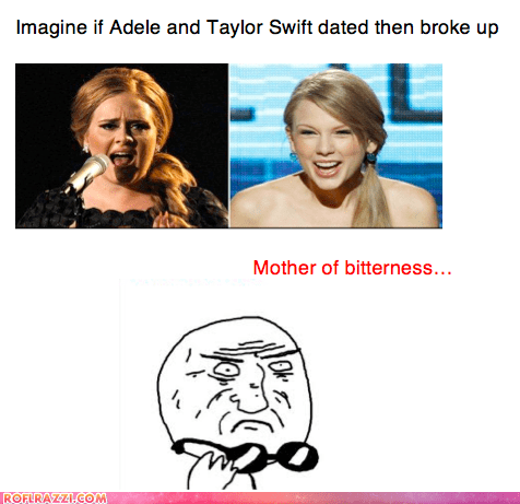 adele,celeb,funny,Hall of Fame,meme,mother of god,Music,taylor swift