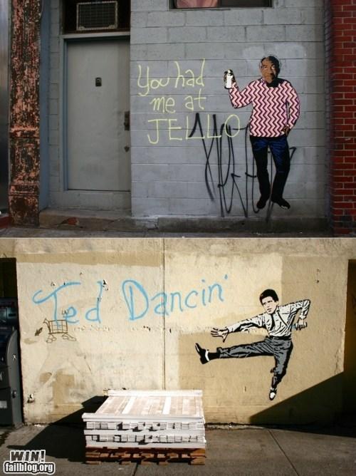 banksy,bill cosby,celeb,hacked irl,Hanksy,Street Art