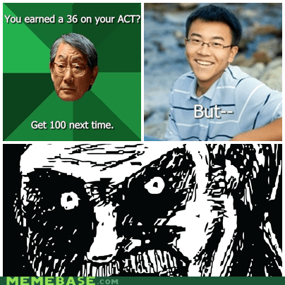 Unfair Asian Dad